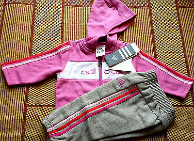 ❤ ADIDAS ❤ BABY GIRLS PINK CANDY Tallas/Size 6-9 / 9-12 / 12-18 / 18-24 MESES ❤