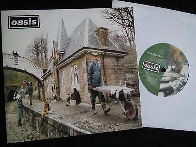 """OASIS - Some Might Say - UK 7"""" in Picture Sleeve - Vinyl Near Mint !"""