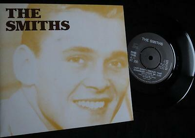 """THE SMITHS - Last Night I Dreamt - UK 7"""" in Picture Sleeve - Vinyl Near Mint !"""