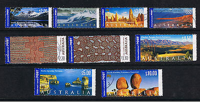 """AUSTRALIA - 24  Diff. Used """"TOURIST ATTRACTIONS"""" International Rate to $10.00"""