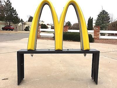VTG McDonald's Arches Neon Sign Man Cave Bar  Restaurant ROUTE 66 New Mexico USA