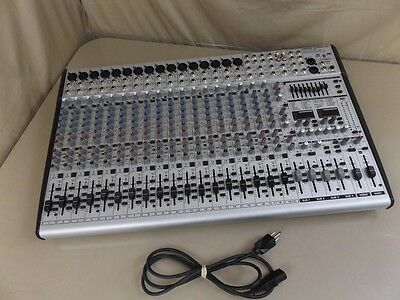 Behringer Eurodesk SL2442FX-PRO 24 Channel Studio Mixer Mix Board Console