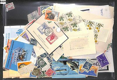 s229-World Collection Mint & Used