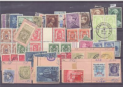 s201-Belgium Selection – Mint & Used