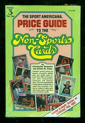 Sport Americana Price Guide to Non-Sports Cards #3 (Still sealed in plastic)