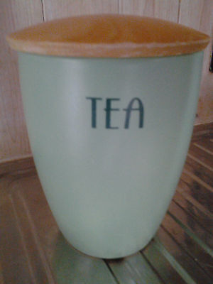 T G Green Tea Caddy