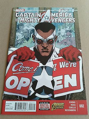 Captain America And Mighty Avengers #2 Axis From Marvel 2014