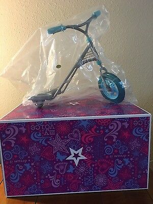 New in Box ! Retired - American Girl - Sporty Scooter
