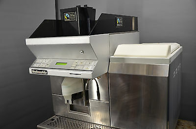 Thermoplan Black & White coffee machine CT1MF5 automatic bean to cup commercial