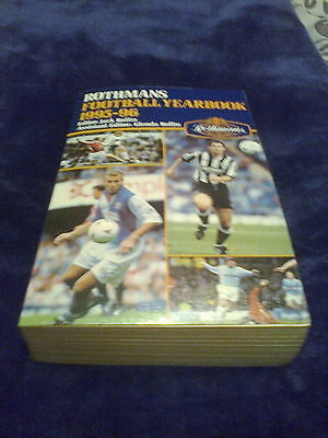 Rothmans Football Yearbook 1995-96 paperback 26th year