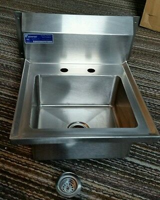 New Universal MODEL IL-CHS-1WM NSF Stainless Steel Hand Sink Commercial Strainer