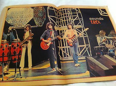 Marc Bolan - Sounds Jan 1972 Complete With Colour Poster
