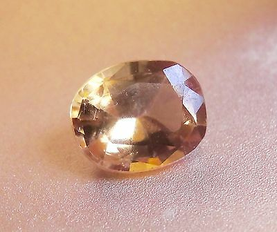 0.69cts Beautiful Champagne color change natural Axinite loose gemstone