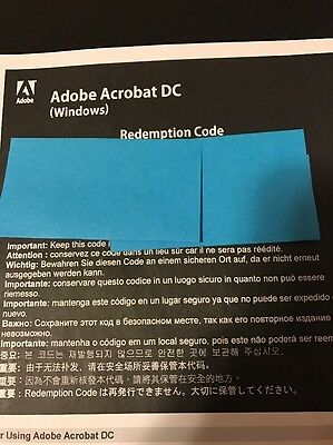 Adobe Acrobat DC for Windows - Fast Shipping!