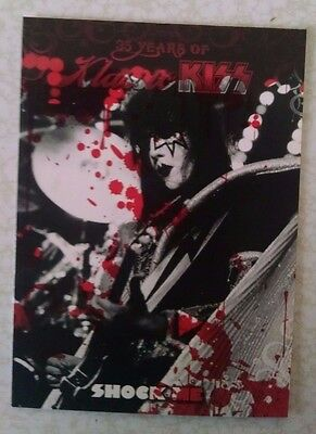 KISS IKONS BLOOD PARALLEL 49 Variant Red card 2009 Press Pass Ace Gene trading