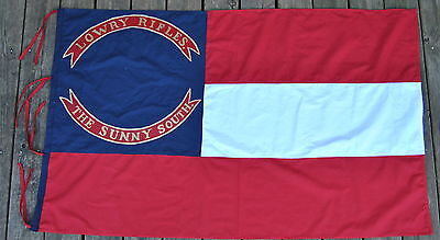 """Cotton Company D 6th Mississippi Infantry1st Confederate Flag """" Lowrys Rifles"""""""