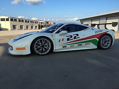 2013 Ferrari 458 Challenge Race Car. Like new!