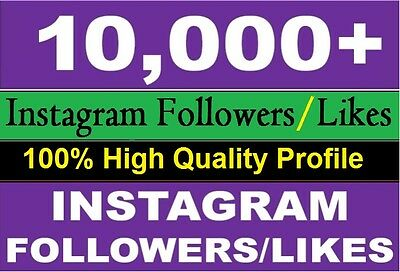 10.000 instagram follower HQ and cheap