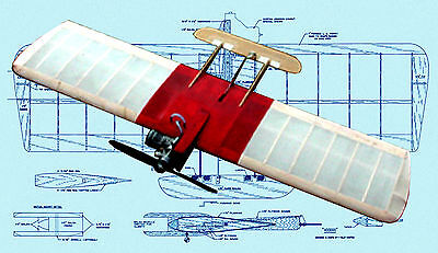 Control Line Combat Model Airplane Plans  Voodoo Article  Plans