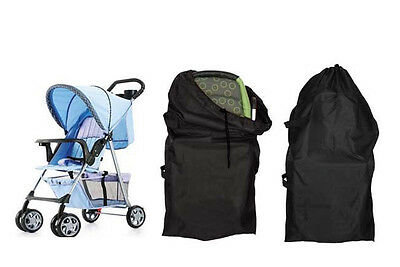 Hot Stroller Pram Umbrella Pushchair Buggy Car Gate Check Plane Travel Bag Cover