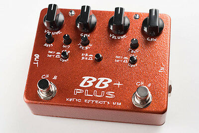 Xotic Effects USA - BB+ Plus Overdrive / Preamp Guitar Effect Pedal