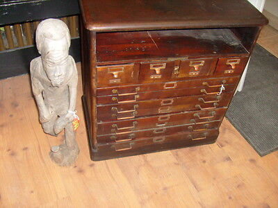 Library Bureau Sole Makers Antique vintage wooden Cabinet - Pittsburgh Pa Pickup