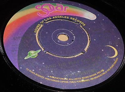 """Whispers And The Beat Goes On / Can You Do The Boogie  7"""" Vinyl Solar Label"""