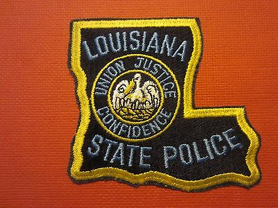 Collectible Louisiana State Police Patch New
