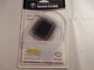 Official Nintendo Gamecube Memory Card 1019 (BOX ONLY) (#G999)