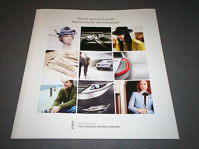 2008 Lincoln Mkz Sales Brochure! Wow