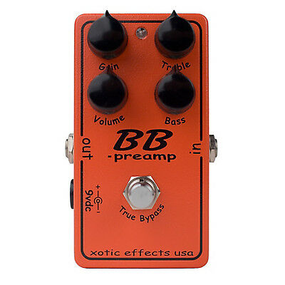 Xotic Effects USA - BB Preamp / Overdrive Guitar Effects Pedal
