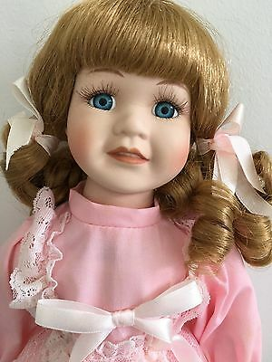 Porcelain doll - Pretty in Pink