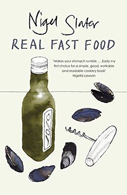 Real Fast Food, Slater, Nigel Paperback Book The Cheap Fast Free Post