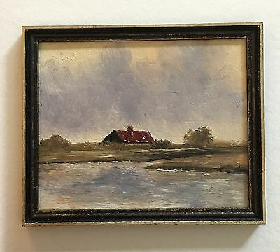 Miniature Painting By Dutch Artist Jan Groot, The Hague Style