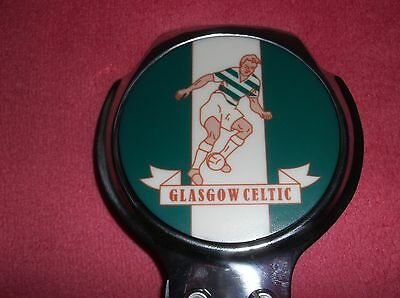 Rare Glasgow Celtic Football Club Vintage Classic Car Metal Grille Bar Badge