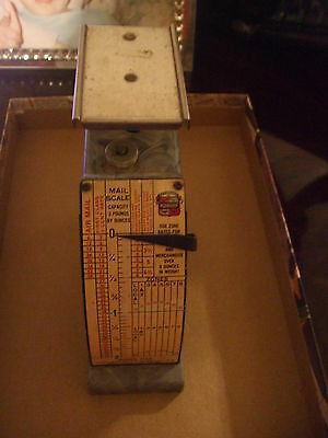 Vintage Hanson Mail Scale Model Number 1546 October 1, 1953 Made In The U.s.a