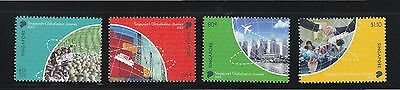 Singapore 2013 Globalisation Of Singapore Comp. Set Of 4 Stamps Mint Mnh Unused