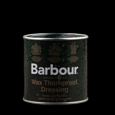 Barbour Wax Tin Thornproof Waterproof Re-waxing, Fast Postage. LOWEST PRICE!!