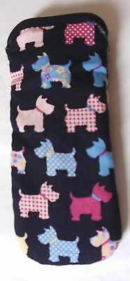 BN- SCOTTISH TERRIERS (SCOTTIE) GLASSES CASE Ideal small gift
