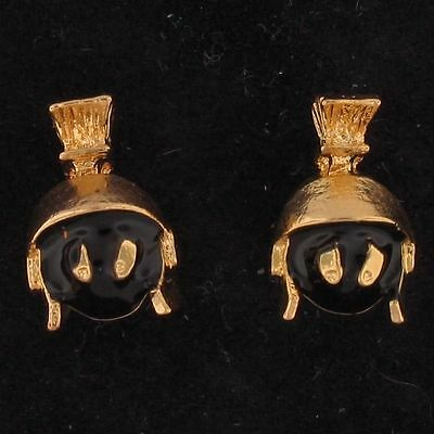 EARRINGS Marvin The Martian STUD WARNER BROS LOONEY TUNES Gold WB STORE 4112