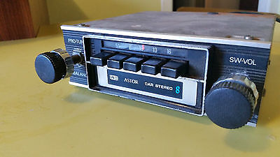 Astor 8 Track Cartridge Player And Car Radio Ford Chrysler Holden Datsun  Etc