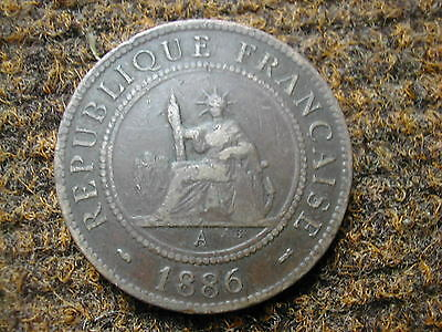 French Indo China 1 cent - 1886