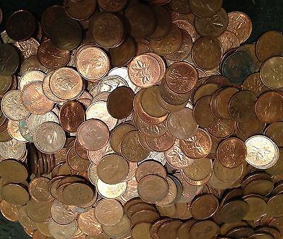 Copper Cent Rolls ~~ King VI / Young Queen Ends ~~ Lots of fun ~~ KEY DATES !!