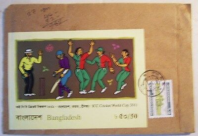 Bangladesh Cover (Stamps On Both Sides) And Used Stamp Selection