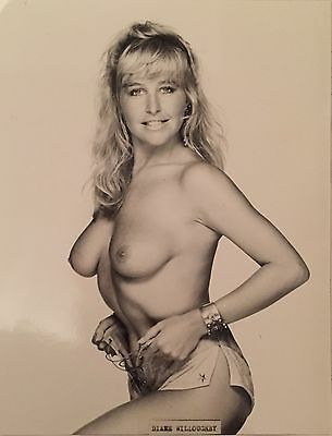 The Sun Page 3 Original Photo Diane Willoughby Very Rare.