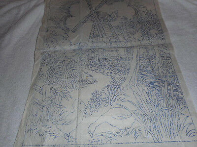 Large Vintage Embroidery Iron on Transfer- Briggs No.A.74 - Meadow Mill