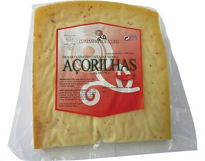 380 GR ISLAND CHEESE (AZORES - PICO) with PEPPER from EARTH // Free Shipping