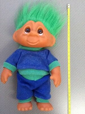 1990 ToyTroll/ Collectable with Green Hair