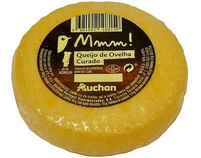 1 Tasty WHOLE UNIT CURED SHEEP CHEESE from Alentejo - Portugal // Free Shipping