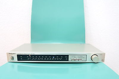 Vintage mid 80s Technics ST-Z35L FM/MW/LW Stereo Radio Tuner made in Japan